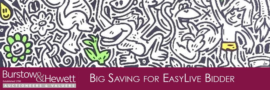 Big Savings for EasyLive Bidder